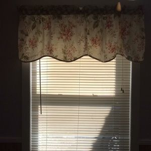 Two pair of Curtain Valances